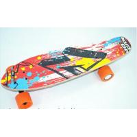 Buy cheap Smart Four PU Wheels Electric  coloful Skateboard  Remote Conrtol Longboard 10km/h Electric Scooter from wholesalers