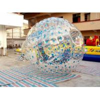 Buy cheap 3 Persons 75 Kg Colorful Inflatable Zorbing Ball For Funny Activities CE from wholesalers