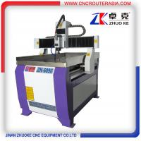 Buy cheap air cooling spindle small cnc wood carving machine ZK-6090-2.2KW 600*900mm from wholesalers