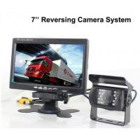 Buy cheap Truck Reverse Camera 12V~24V DC 7 inch LCD Monitor Night Vision Backup Camera trailer rear view camera product