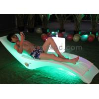 Outdoor Using Plastic waterproof  beach pool chaise chair can make different colors
