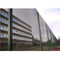 Buy cheap Welded industrial 358 security mesh panels for playground 0.9m-5.2m height from wholesalers