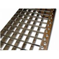 Buy cheap ASTM Q235 SS304 Stainless Steel Stair Treads, Anti Corrosion Bar Grating Treads from wholesalers