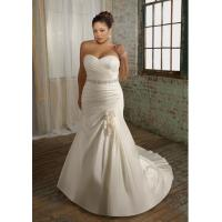 Buy cheap Plus Size Satin Mermaid Bridal Wedding Gown (Ogt3003A) from wholesalers