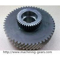 Buy cheap Carbon Steel Double Gears Mining Machinery Spur Helical Gear Toothed Wheels from wholesalers