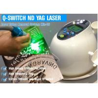 Buy cheap Nd Yag Tattoo Removal Pico Laser Machine 1064 Nm / 532nm Wavelength 6 Ns Pulse from wholesalers
