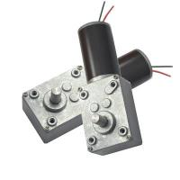 Buy cheap 12V DC Motor with Gearbox , Worm Gear Motor 24V for Automobile Clutch from wholesalers