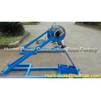 Buy cheap Scissor lift drum stands from behind Cable Drum Lifting Jack from wholesalers