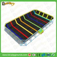 Buy cheap cheap kids outdoor gymnastics bungee spring trampolines with basketball frame for sale from wholesalers