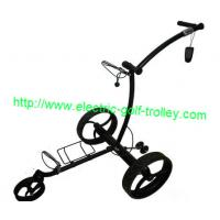 Buy cheap Remote Stainless steel golf trolley wireless electric golf Trolley electrical golf caddy from wholesalers