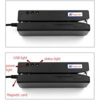 Buy cheap magnetic card reader writer/swip card reader writer compatible with MSR206 from wholesalers