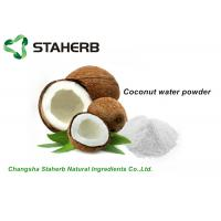 Buy cheap Organic Dehydrated Fruit Powder , White Coconut Water Powder For Drink / Food from wholesalers