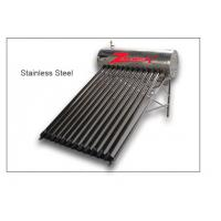 Buy cheap Stainless steel water solar heater/vacuum tube water solar heater Calentador de agua solar from wholesalers