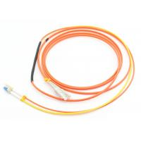 Buy cheap Duplex 3.0mm Mode Conditioning Patch Cord 3M LSZH Orange For Gigabit Interface Converter from wholesalers