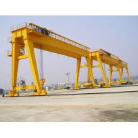 Buy cheap Professional Single Hook 50 - 200 Ton Double Girder Cranes With Cabin from wholesalers