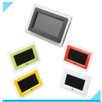 Contemporary Customized 7 Inch LCD Digital Photo Frame With LED Light