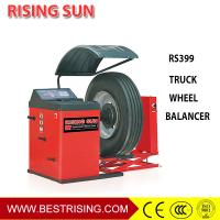 Buy cheap Truck tire repair used wheel balancing equipment for garage from wholesalers