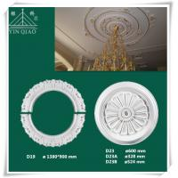 Buy cheap High quality interior decorative gypsum celing rose from wholesalers