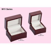 Buy cheap Wooden Double Ring Box, Jewelry Packaging Boxes With Customized Logo from wholesalers