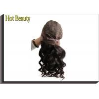 Buy cheap Front Lace Wigs Virgin Human Hair Natural Wave , Customized Human Hair Wigs from wholesalers