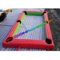 Buy cheap Popular Inflatable Soccer Field , interactive outdoor games With PVC from wholesalers