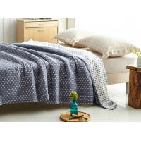 Buy cheap Custom Thick Warm Soft Quilt Blanket For All Season Small Start Design Pattern from wholesalers