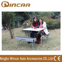 Buy cheap Aluminum Folding Outdoor Camping Tables Expandable for picnic from wholesalers