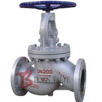 Buy cheap Industrial Rising Stem Globe Valve Manual Cast Carbon Steel WCB Dn200 Pn40 from wholesalers