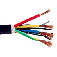 Buy cheap Multicore Screened Control Drag Chain Cable , Stranded Copper Wire High Stability product