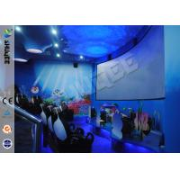 Buy cheap Funny Cartoon Cute 5D Theater System 360 Degree Screen With Motion Simulator Film product