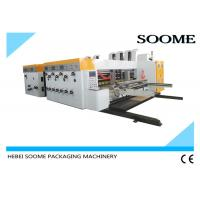 Buy cheap 4 Colors Corrugated Flexo Printing Slotting Machine Computerized Specs Adjustment from wholesalers