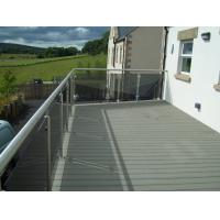Buy cheap Environmental WPC Deck Flooring Anti - UV Dark Grey For Balcony , wpc  material from wholesalers