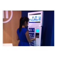 Buy cheap Bank Financial Advertising Mobile Wifi Cell Phone Recharge Station Lockers Digital Signage from wholesalers