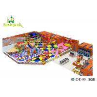 Slide Climbing Baby Indoor Playground For Amusement Park 15.86 * 7.32 * 8M