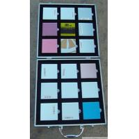 Buy cheap Aluminum Marble Display Case , Silver Color Stone Display Box Lightweight from wholesalers