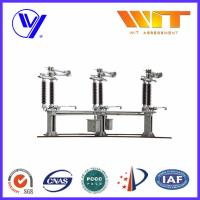 Buy cheap 126KV Vertical Operate High Voltage Disconnect Switch Semi Pantograph from wholesalers