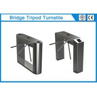 Buy cheap Fully Auto Bridge Tripod Turnstile Gate Bi Directional With Adjustable Speed from wholesalers