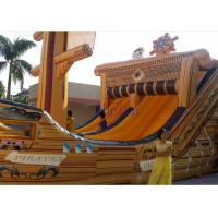 Buy cheap Super Cool Boat  Inflatable Water Slide With Cartoon Digital Printing from wholesalers