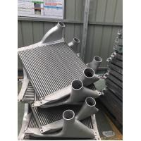 Buy cheap Aluminum Tube Fin Charge Air Cooler for Aftermarke Truck Turbo Engine air to air heat exchanger from wholesalers