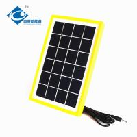 Buy cheap 3 Watt Solar Photovoltaic Panels Max Current 0.51A ZW-3W-6V-1 mini home solar energy systems for portable solar charger product