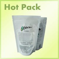 Buy cheap Ziplock Organic Goji Berry / Strawberry Tea Stand Up Pouch With Window product