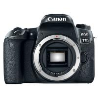 Buy cheap New EOS 77D 24.2 MP Digital SLR Camera - Black (Body Only) product