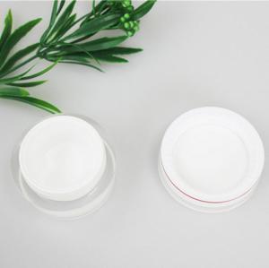 Buy cheap OEM 30g 50g Acrylic Plastic Cosmetic Cream Jars With Screw Cap product