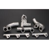 Buy cheap Zinc plating tubes 304 steel sand casting parts shell mold pouring product