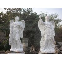 Buy cheap Garden Deco Life size Four angel marble statues,china marble sculpture supplier from wholesalers