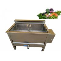Buy cheap Small Scale Vegetable Blanching Equipment , Semi Automatic Potato Blanching Machine from wholesalers