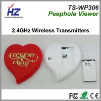Buy cheap 2014 newest 3.5''touch screen 2.4GHz wireless door peephole viewer glass lens from wholesalers