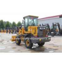 Buy cheap Mini Articulated Wheel Loader T915L With Pallet Fork ISUZU Strengthen Axles product