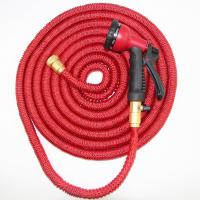 Buy cheap Flexible Retractable Garden Hose With Double Latex Expandable Hose from wholesalers