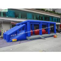 Buy cheap Blue Hit And Run Inflatable Games , Bouncy Bridge Inflatable Sports Games from wholesalers